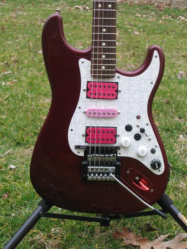 Fender/Warmoth Roland Strat